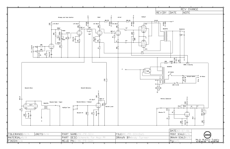 Mojotone Princeton Reverb Clone Project on technical drawing, functional flow block diagram, block diagram, tube map, piping and instrumentation diagram, one-line diagram, circuit diagram,